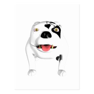 Bobo der Teufel-Hund Postkarte