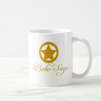 Bobo sagt gesamte Linie Kaffeetasse