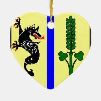 Bobzin_Wappen1 Keramik Herz-Ornament