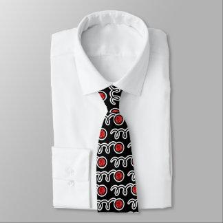 Bocce Ball-Musterhals-Krawatte für Spieler und Krawatte
