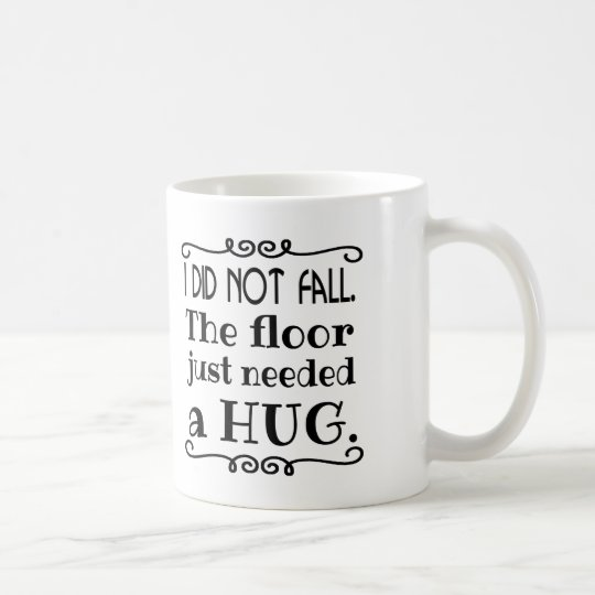 Boden-Umarmungs-lustige Geschenke Kaffeetasse