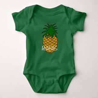 Body in Jersey für Baby Ananas Baby Strampler