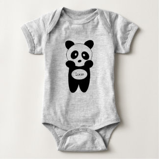 Body in Jersey für Baby, BabyPanda Baby Strampler