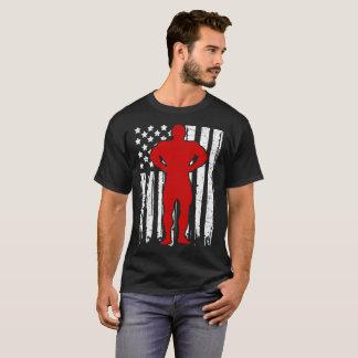 BODYBUILDER-FLAGGEN-AMERIKANER T-Shirt