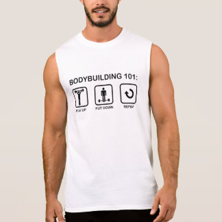 Bodybuilding 101 ärmelloses shirt
