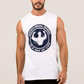 Bodybuilding ist eine Lebensart Sleeveless T - Ärmelloses Shirt
