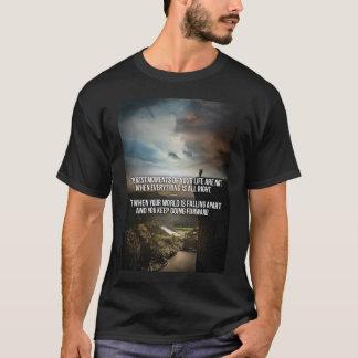 Bodybuildings-Turnhallen-Motivation T-Shirt