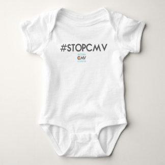 Bodysuit das #STOPCMV des Säuglings Baby Strampler