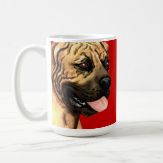 Boerboel Farbblock Kaffeetasse