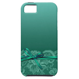 Bogen-Band u. schnüren sich aquamarines | iPhone 5 Etuis