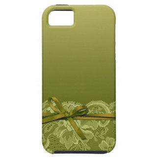 Bogen-Band u. schnüren sich | Gras iPhone 5 Etui