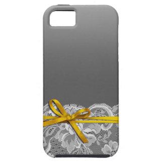 Bogen-Band u. schnüren sich | graues Gelb