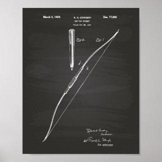 Bogen für Patent-Kunst-Tafel des Poster