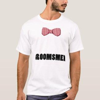 Bogen-Krawatten-Trauzeuge-Shirt T-Shirt