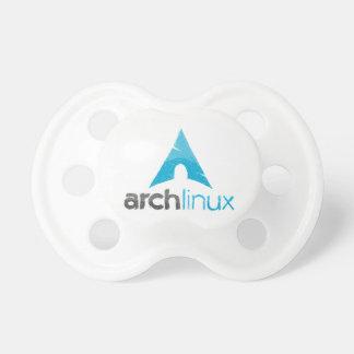 Bogen-Linux-Logo Schnuller