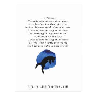 Bogen - Poesie durch Jessica Fuqua Postkarte