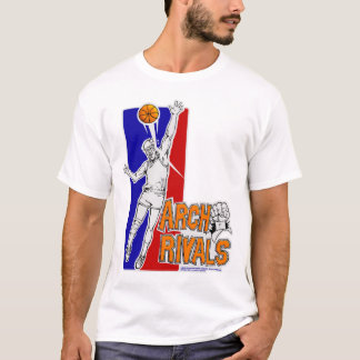 Bogen rivalisiert mit Team-T-Stück T-Shirt
