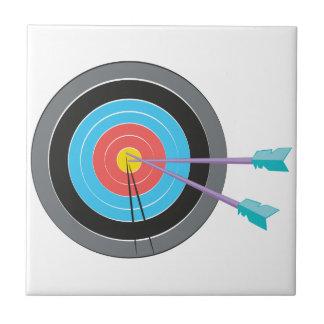 Bogenschießen-Ziel Fliese