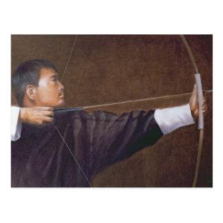 Bogenschütze Bhutan Postkarten