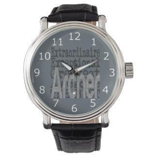 Bogenschütze Extraordinaire Armbanduhr