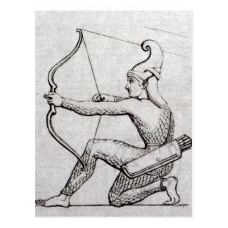 Bogenschütze Postkarte