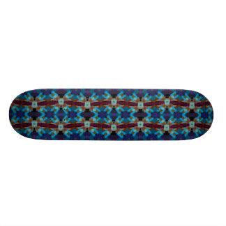 Böhmische Verzierung in ethno-ähnlichem, Azteke Skateboarddeck