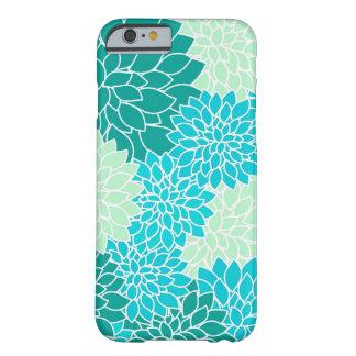 Böhmischer aquamariner Aqua-blaues Grün Barely There iPhone 6 Hülle