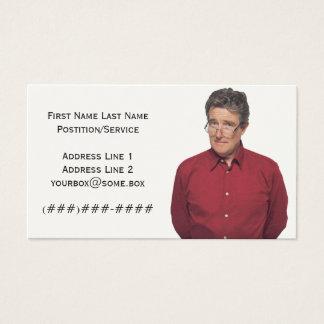 Bohnen-Zähler Visitenkarte