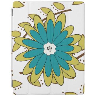 Boho Blätter und Blumen iPad Hülle