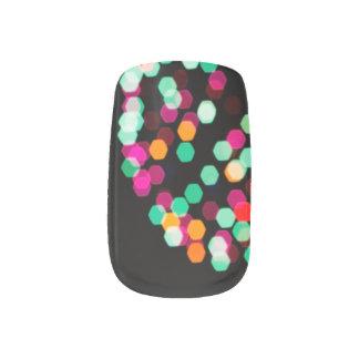 Boho Chic-Feuerwerke Minx Nagelkunst