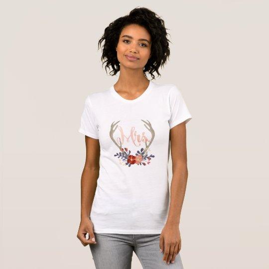 Boho Geweih-Frau Shirt