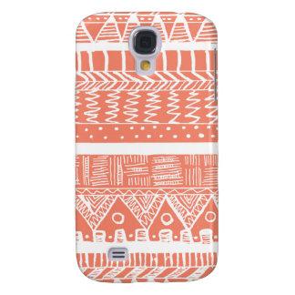 Boho Korallen-Azteke Galaxy S4 Hülle