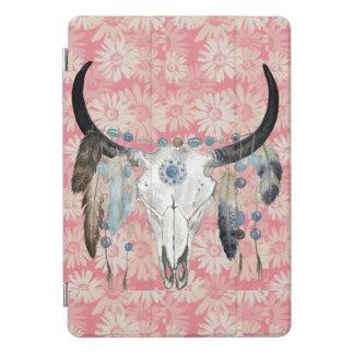 Boho Schädel und Gänseblümchen iPad Proabdeckung iPad Pro Cover