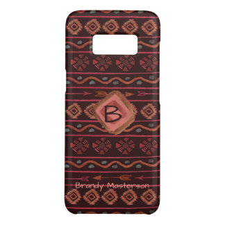 Boho Stammes- Muster, personalisiert Case-Mate Samsung Galaxy S8 Hülle