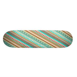 Boho Stammes- schickes geometrisches 19,1 Cm Old School Skateboard Deck