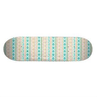 Boho Stammes- schickes geometrisches 20,6 Cm Skateboard Deck