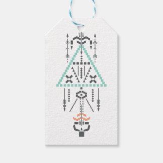 Boho Totem, ethnisches Symbol, Hippie, Azteke, Geschenkanhänger
