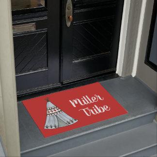 Boho Zelt-kundengerechte Tür-Matte Türmatte