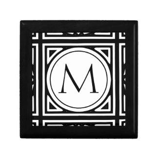Boîte À Souvenirs Monogramme encadré