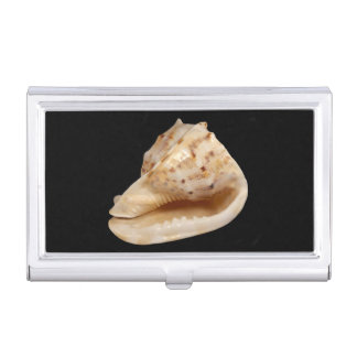 Boîtier Pour Cartes De Visite Porte-cartes de carte de visite de Shell de conque