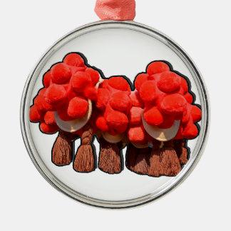 Bollenhuete Silbernes Ornament