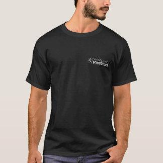 Bollwerks-Königreiche - Logo - Schwarzes T-Shirt