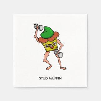 Bolzen-Muffin-Gewichts-Anheben Papierservietten