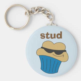 Bolzen-Muffin-humorvoller Schlüsselring für ihn Schlüsselanhänger