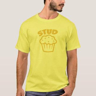 Bolzen-Muffin im Gelb T-Shirt