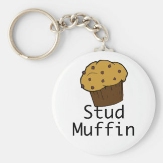 Bolzen-Muffin-Junge Schlüsselanhänger