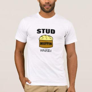 Bolzen-Muffin-T-Stück T-Shirt