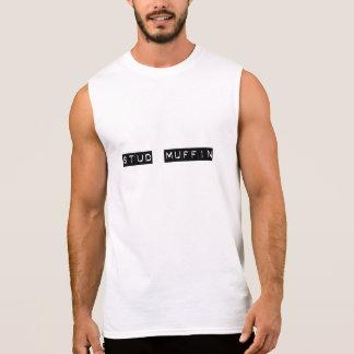 Bolzen-Muffinmuskelt-stück Ärmelloses Shirt