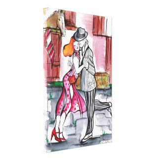 Bolzen-Tango Gespannte Galerie Drucke