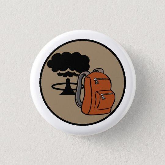 Bombe kundschaftet Bugout Runder Button 3,2 Cm